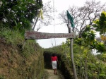 * Entrance to the Bandilaan Butterfly Garden--family run, with little government assistance. The butterflies' habitat has been partially destroyed so the sanctuary is attempting to save and reintroduce them to other parts of the island.