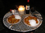 * Last dinner on Siquijor--Japanese fish curry